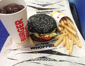 Калорийность продуктов из бургер кинга