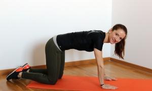 Подтягиваем бедра и ягодицы простыми упражнениями