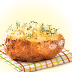 Калориен ли обед в Крошке-картошке?