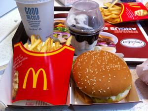 Есть в Макдональдс и не толстеть — вот что я люблю!