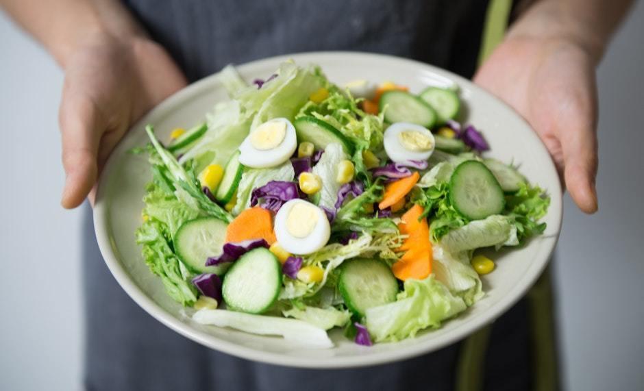 Как приготовить салат для похудения