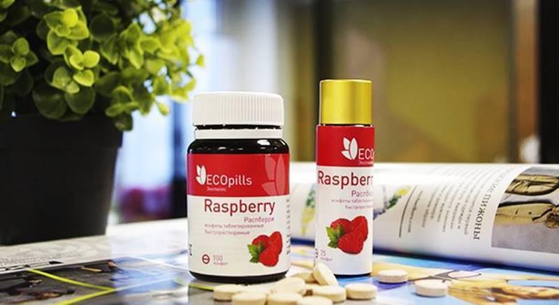 Конфеты для похудения Eco Pills Raspberry обзор препарата