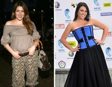 55c221b7d30f Как Ирина Дубцова похудела  диета, фото до и после