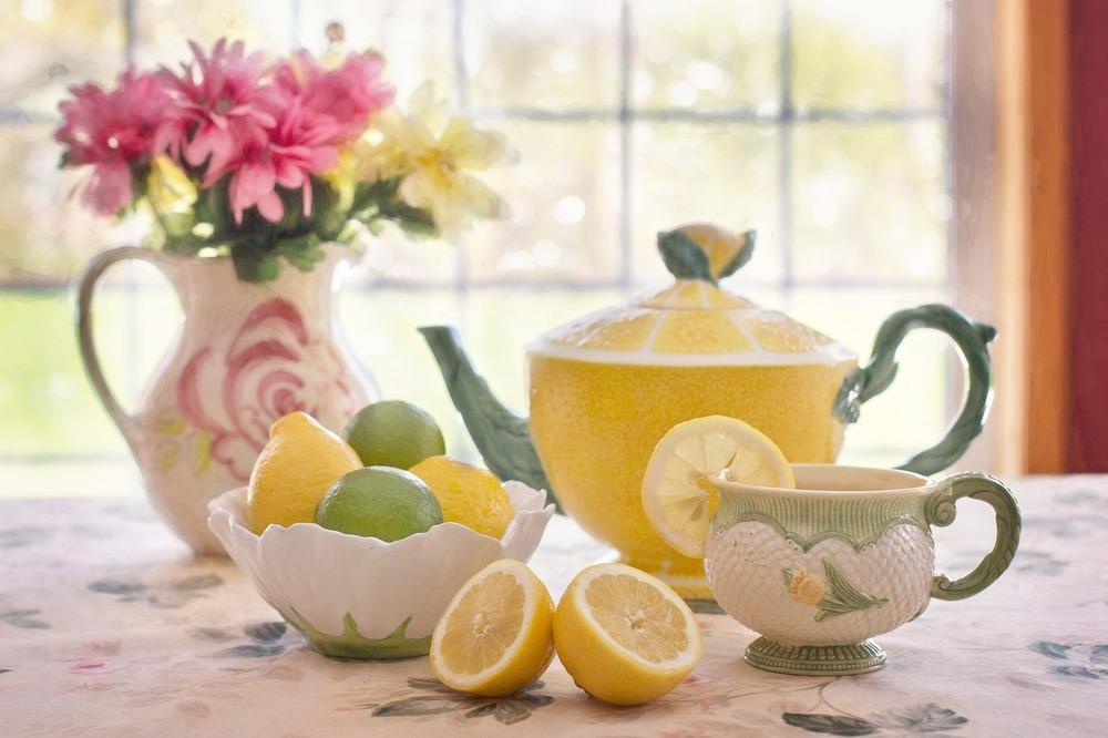 Лимон и кефир для похудения