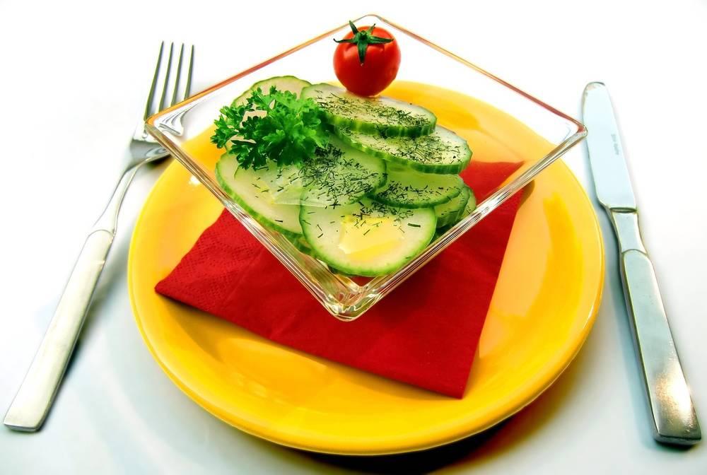 Похудение на огурцах  теряем вес с пользой